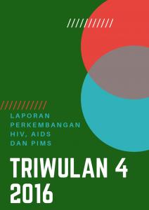 Book Cover: Laporan Triwulan 4 - 2016