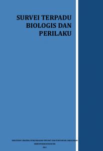 Book Cover: Survei Terpadu Biologis dan Perilaku - 2009