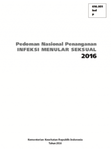 Book Cover: Pedoman Nasional Penanganan Infeksi Menular Seksual - 2016