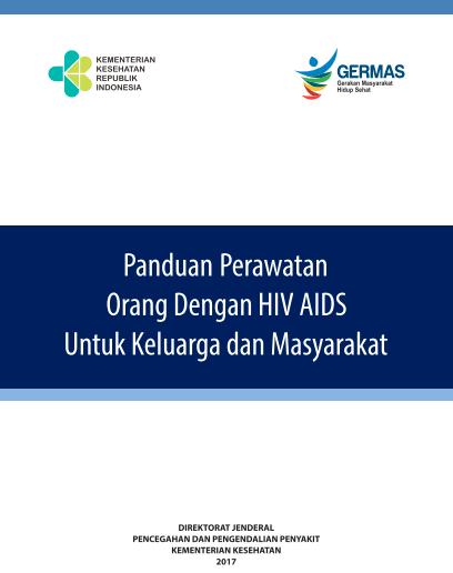 Book Cover: Pedoman Perawatan Orang Dengan HIV AIDS - Untuk Keluarga dan Masyarakat