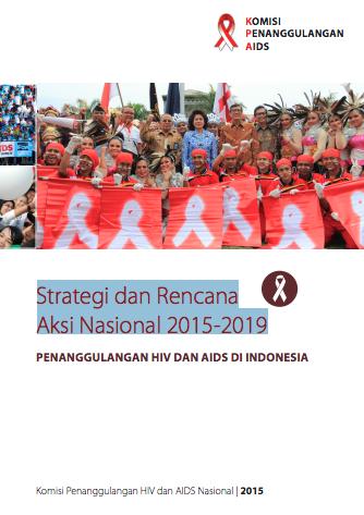 Book Cover: Strategi dan Rencana Aksi Nasional 2015-2019 - KPAN