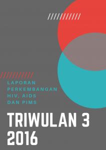 Book Cover: Laporan Triwulan 3 - 2016