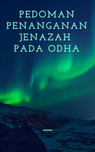 Book Cover: Pedoman Penanganan Jenazah Pada ODHA