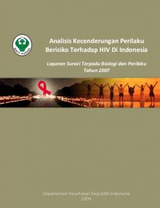 Book Cover: Survei Terpadu Biologi dan Perilaku Tahun 2007