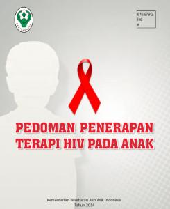 Book Cover: Pedoman Terapi HIV Pada Anak