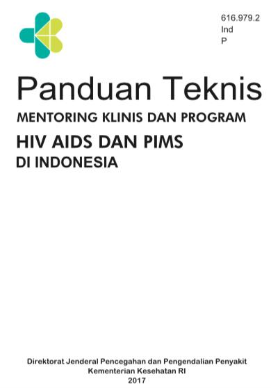 Book Cover: Panduan Teknis Mentoring Klinis dan Mentoring Program HIV