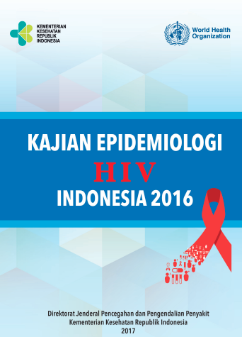 Book Cover: Kajian Epidemiologi HIV di Indonesia 2016