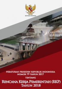 Book Cover: Perpres - Rencana Kegiatan Pemerintah tahun 2018